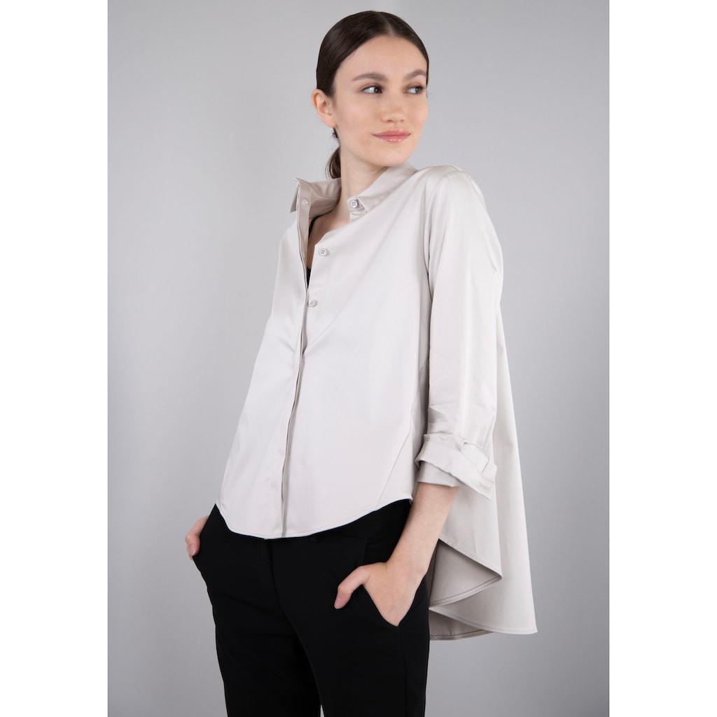 IMPERIAL Klassische Bluse »IMP-C ED4CFE«, glockenförmige Form
