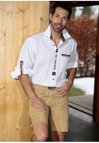 Trachtenhemd im Landhausstil, OS - Trachten kaufen