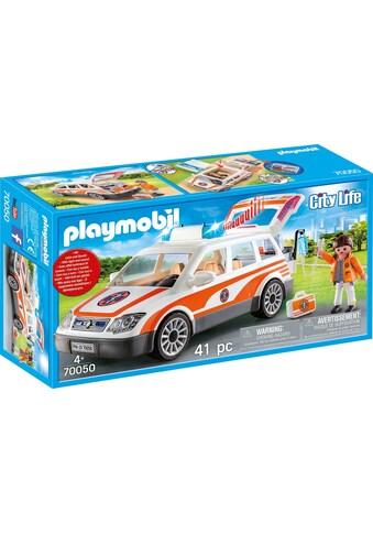 """Playmobil® Konstruktions - Spielset """"Notarzt - PKW mit Licht und Sound (70050), City Life"""", Kunststoff kaufen"""