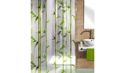 Kleine Wolke Duschvorhang »Bamboo«, Breite 180 cm, Höhe 200 cm kaufen