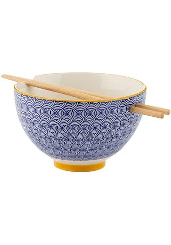 Typhoon Suppenschale, für die Asia Küche, inkl. Stäbchen, Ø 16 cm kaufen