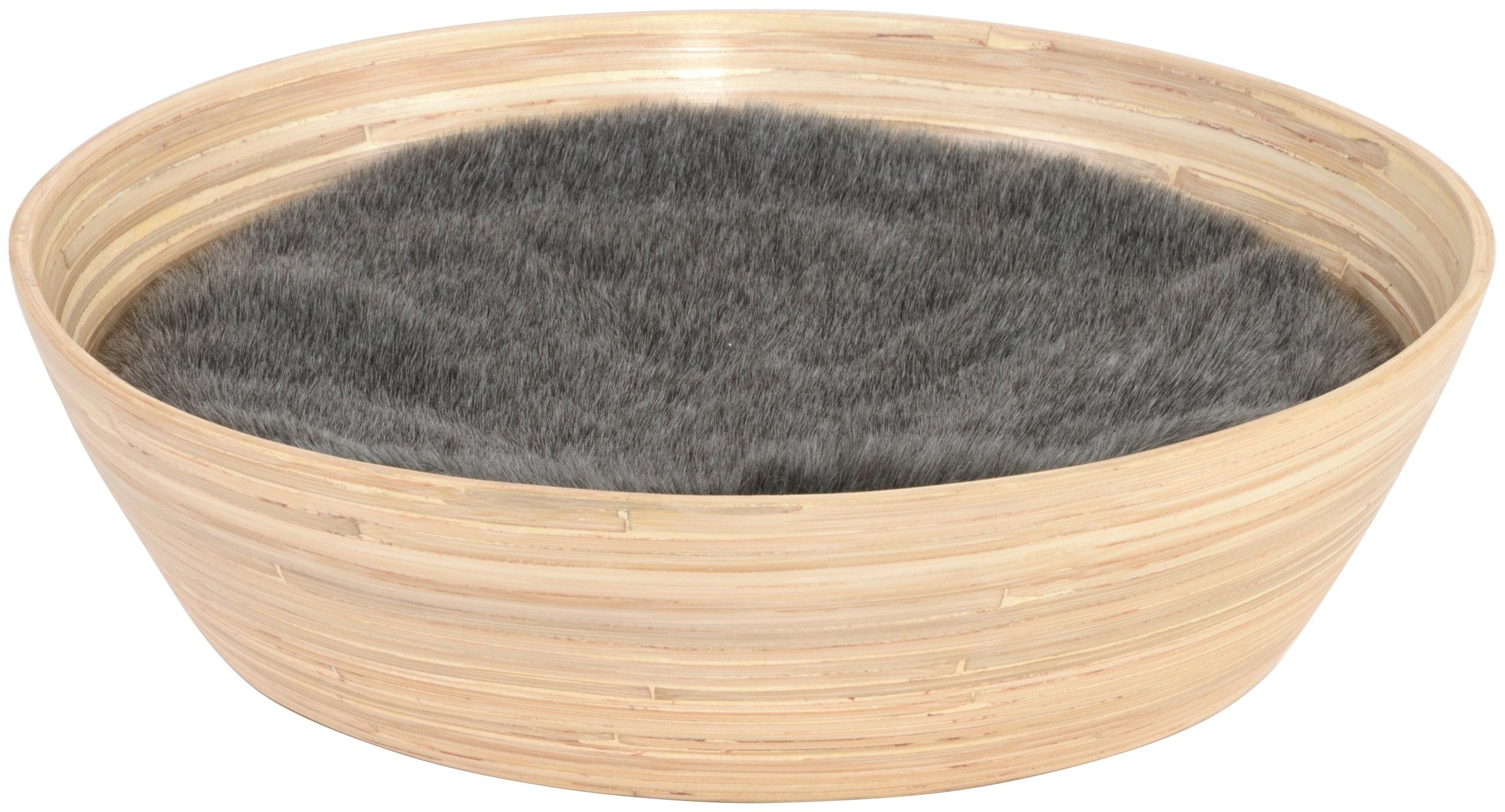 SILVIO DESIGN Katzenkorb »Ajumi Gr. 1«, B/L/H: 45/45/12 cm, natur   Garten > Tiermöbel > Katzenkörbe   Natur   SILVIO DESIGN