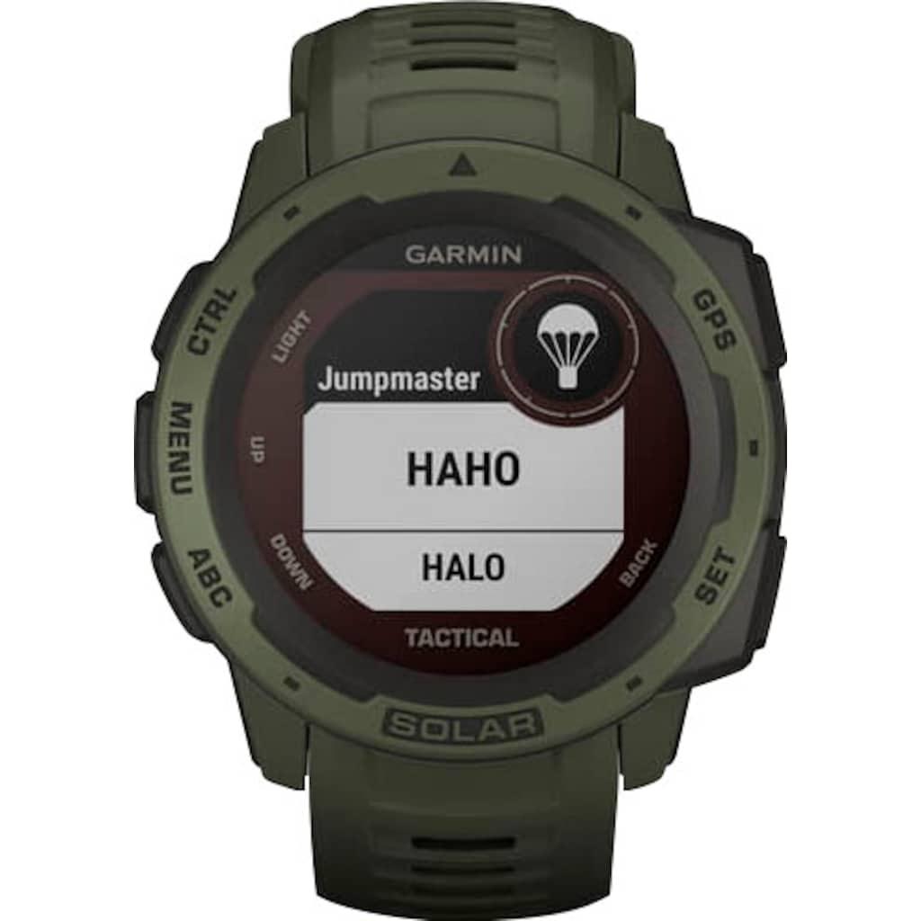 Garmin Smartwatch »Instinct Solar Tactical Edition«
