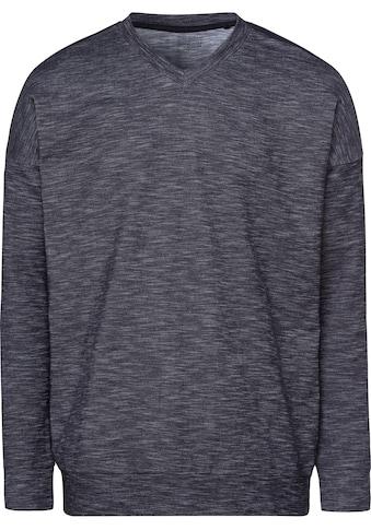 Schiesser Sweatshirt »Autumn Lights«, in schöner melierter Optik kaufen