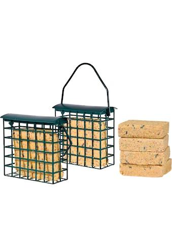 dobar Vogelfutter »Fettblöcke«, (Set, 6), 6 Stk., inkl. 2 Futterspender kaufen