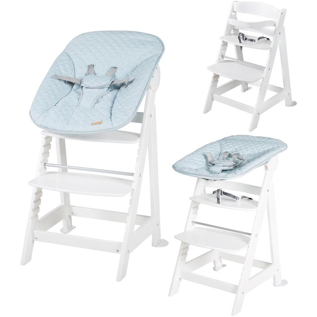 roba® Hochstuhl »Treppenhochstuhl 2-in-1 Set Style, Born Up«, mit Neugeborenen-Aufsatz