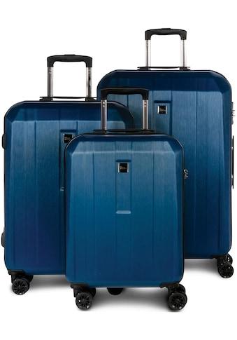 fabrizio® Trolleyset »Gateway, blau«, (3 tlg.) kaufen