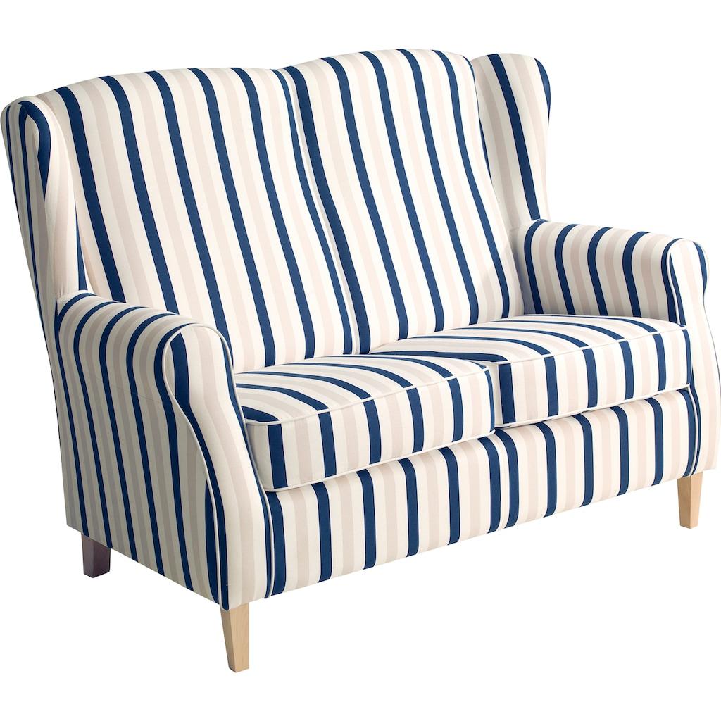 Max Winzer® 2-Sitzer »Luke«, im Retrolook, Breite 138 cm