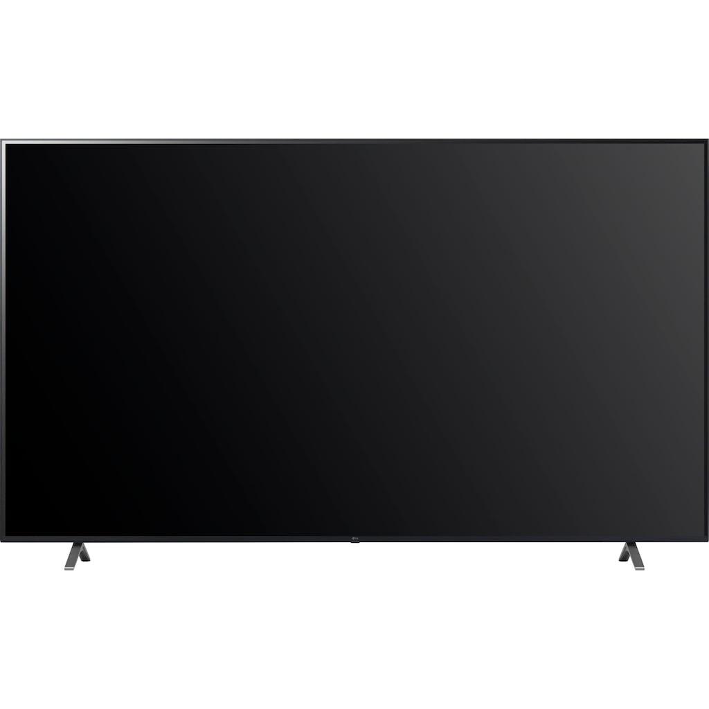 "LG LCD-LED Fernseher »86UP80009LA«, 217 cm/86 "", 4K Ultra HD, Smart-TV, (bis zu 120Hz)-LG Local Contrast-α7 Gen4 4K AI-Prozessor-Sprachassistenten-Dolby Vision IQ-Dolby Atmos"