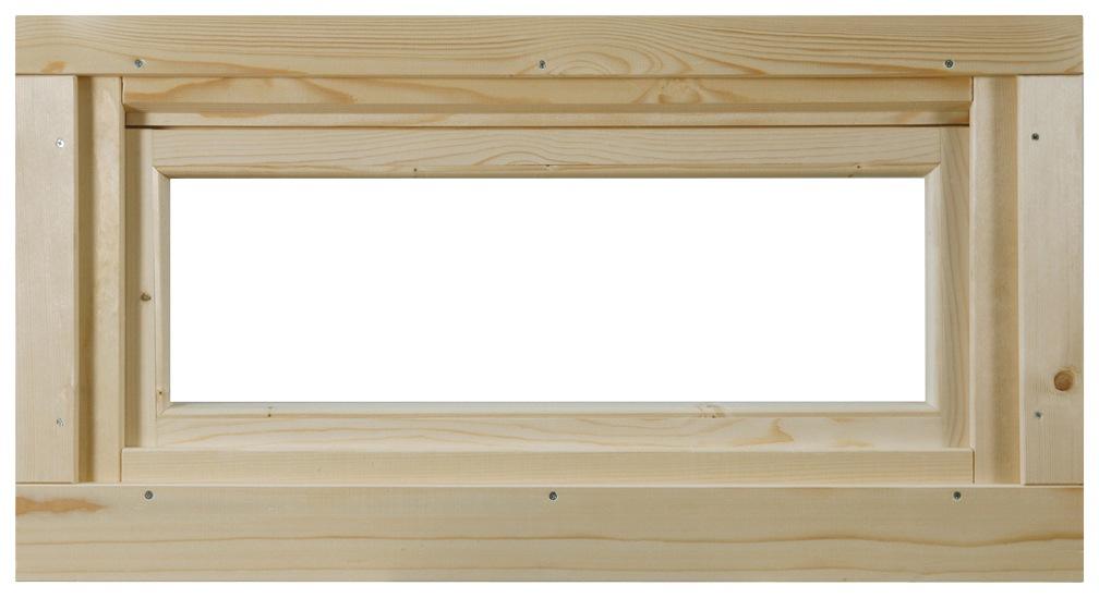 WOLFF FINNHAUS Fenster »A42-15K/28«, Kippfunktion, BxH: 92,5x45 cm | Baumarkt > Modernisieren und Baün > Fenster | Wolff