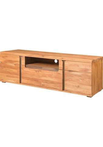 andas Lowboard »Logan«, aus schönem massivem Eichenholz, mit einer praktischen... kaufen