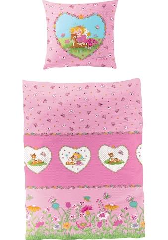 Prinzessin Lillifee Kinderbettwäsche »Reh«, mit Blumen kaufen