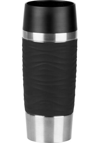 Emsa Thermobecher »Travel Mug Waves«, Edelstahl, 360 ml Inhalt, 100% dicht,... kaufen