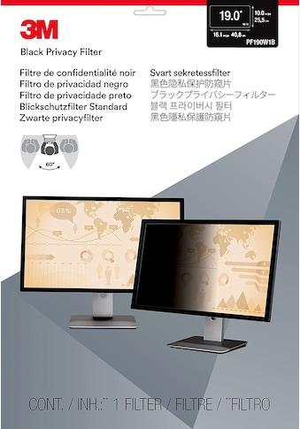 """3M PF19.0W Blickschutzfilter Standard »für Desktop 48,3 cm (19"""")« kaufen"""