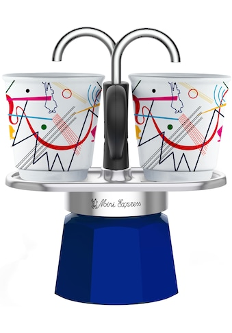 BIALETTI Espressokocher »Mini Express Kandinsky«, (1 Espressokocher + 2... kaufen