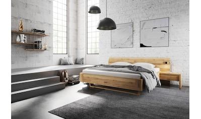 Home affaire Massivholzbett »Lena K«, (3 tlg.), aus Massivholz kaufen