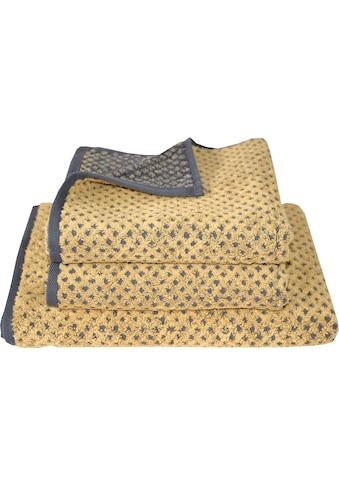 Dyckhoff Handtuch Set »Golden Shades Rhombus« kaufen