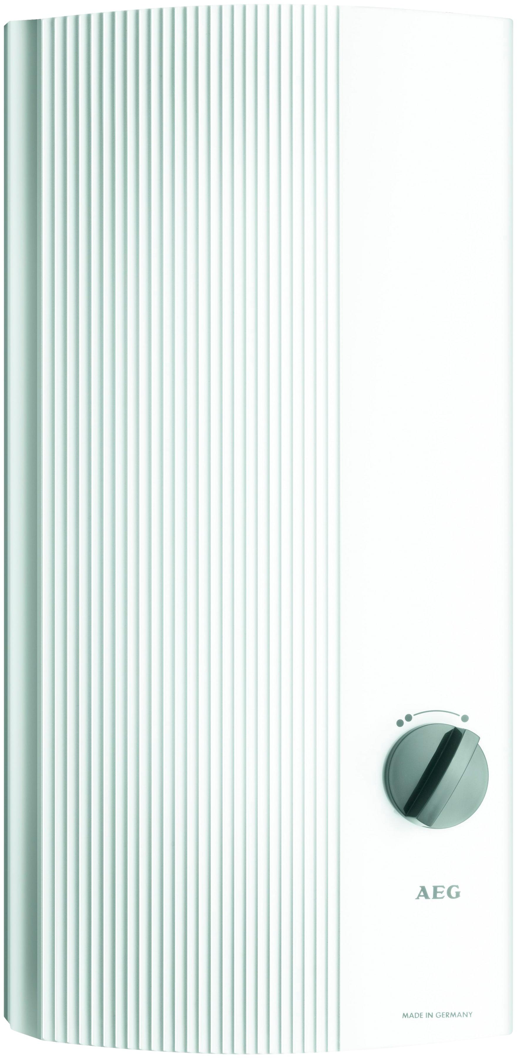 AEG Durchlauferhitzer »DDL PinControl 18« | Baumarkt > Heizung und Klima > Durchlauferhitzer | Weiß | AEG
