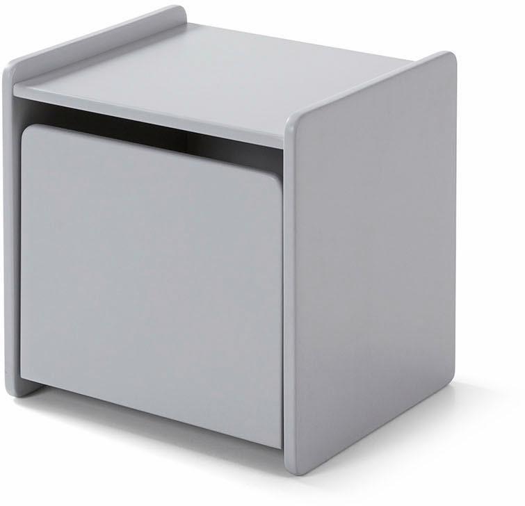 Vipack Nachttisch »Kiddy«, MDF-Oberfläche   Schlafzimmer > Nachttische   Grau   Mdf   VIPACK FURNITURE
