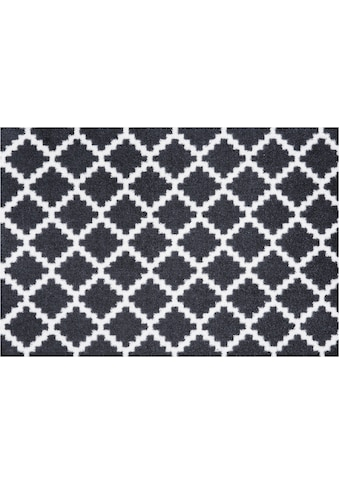 Zala Living Fußmatte »Elegance«, rechteckig, 7 mm Höhe, Schmutzfangmatte, Rauten... kaufen
