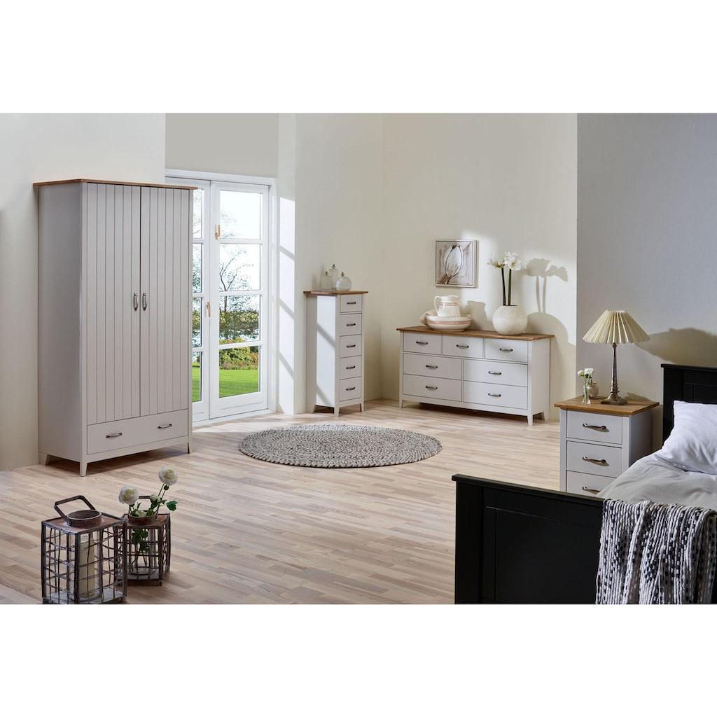 Home affaire Kommode »Norfolk«, mit 7 Schubladen, Breite 143 cm
