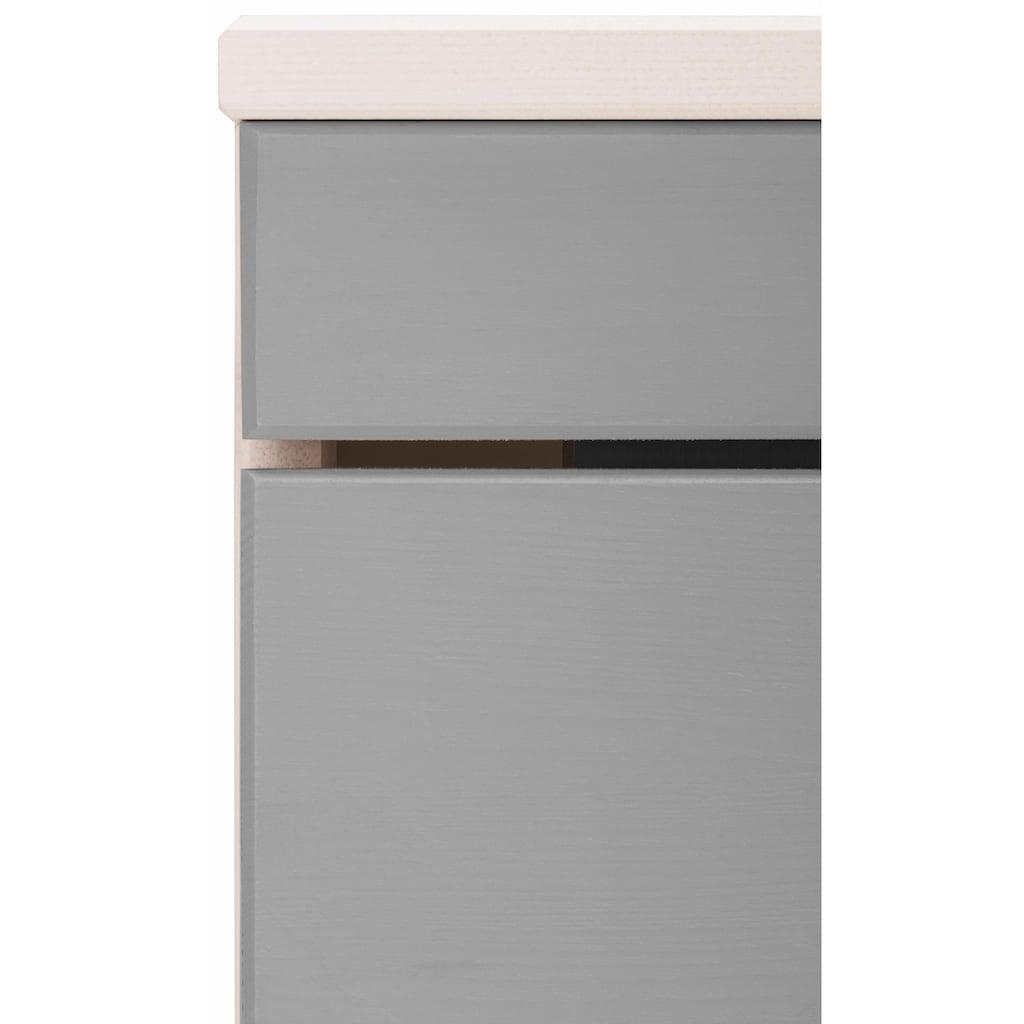 Home affaire Waschbeckenunterschrank »Josie«, Breite 40 cm, aus Massivholz, Metallgriff, 1 Tür