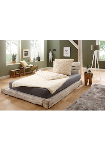 f.a.n. Schlafkomfort Naturhaarbettdecke »Lammflor«, warm, Füllung 97% Wolle, 3%... kaufen