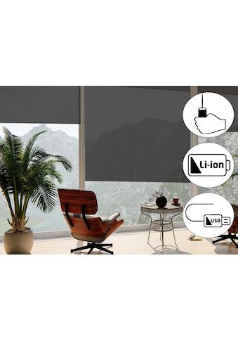 Seitenzugrollo »Classic Style Akku - Rollo«, sunlines, Lichtschutz, freihängend kaufen