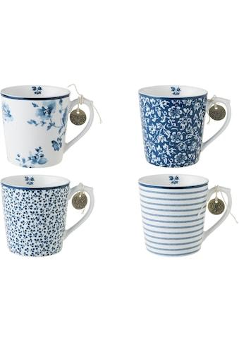 LAURA ASHLEY BLUEPRINT COLLECTABLES Becher »Designs China Rose, Sweet Allysum, Floris,... kaufen
