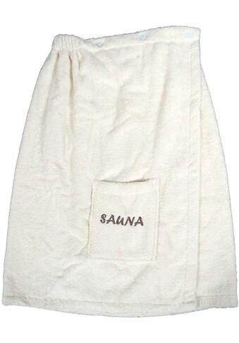 Dyckhoff Sarong »Opal«, (1 St.), mit Sauna-Schriftzug kaufen