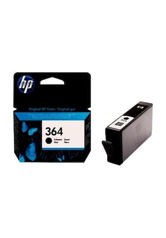 HP Tintenpatrone »hp 364, original, CB316EE, SCHWARZ« kaufen