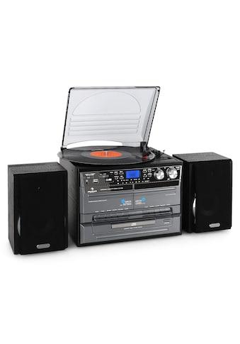 Auna Stereoanlage USB MP3 Kassette CD Plattenspieler Encoder kaufen