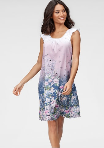 Cybèle Nachthemd, mit Blumendruck kaufen