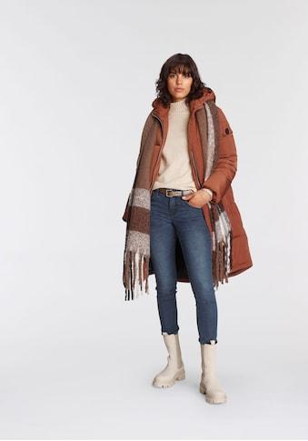Tamaris Stehkragenpullover, mit Strickdetails - NEUE KOLLEKTION kaufen