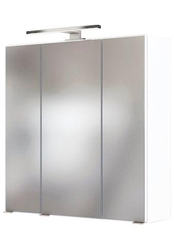 HELD MÖBEL Badezimmerspiegelschrank »Catania 3D-SPS 60«, Inklusive LED-Beleuchtung kaufen