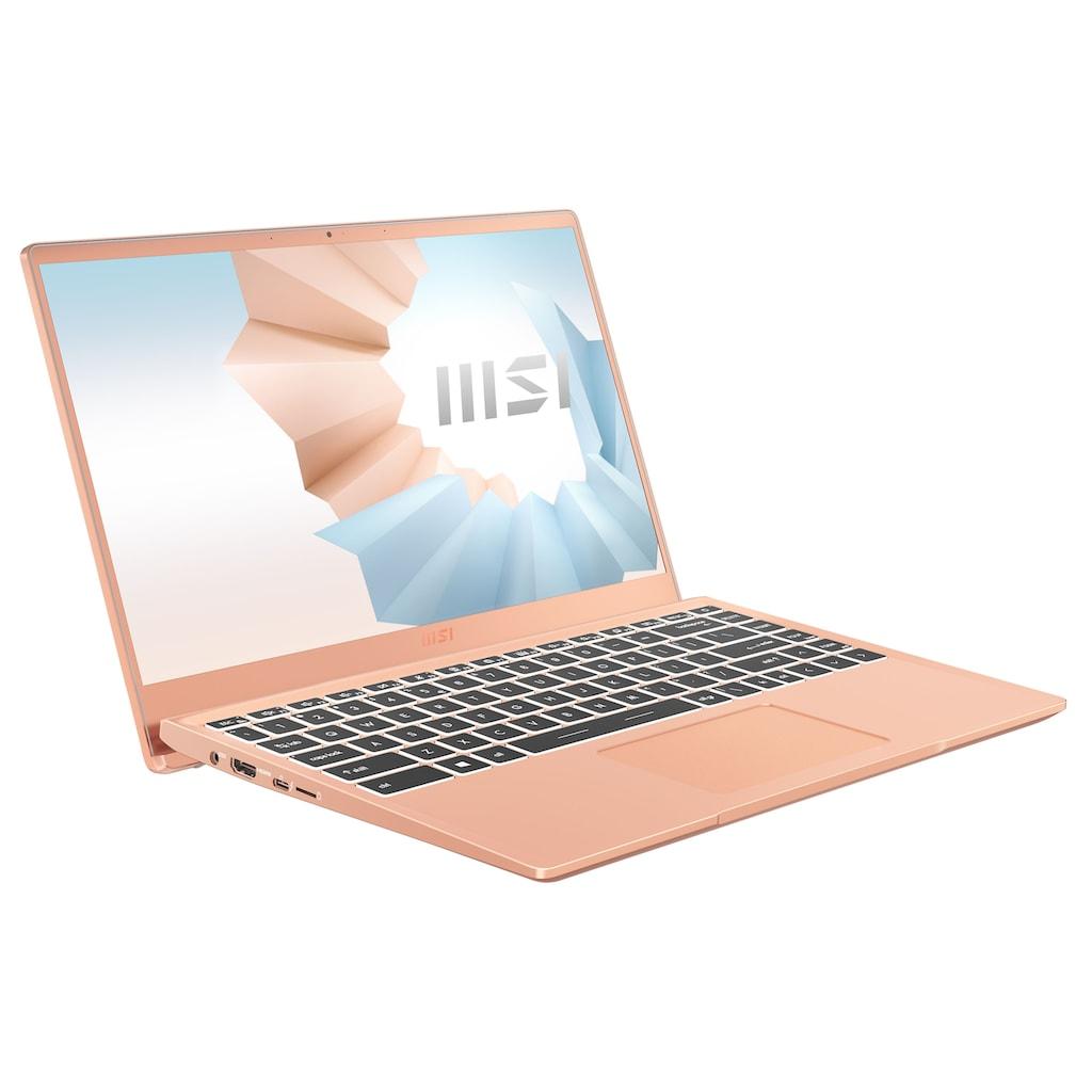 "MSI Notebook »Modern 14 B11SB-086«, (35,7 cm/14 "" Intel Core i7 \r\n 512 GB SSD)"