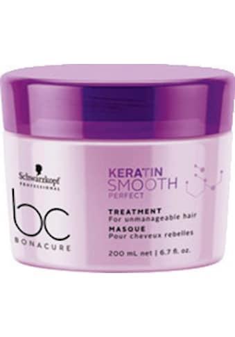 Schwarzkopf Professional Haarkur »BC Bonacure Keratin Smooth Perfect Treatment«, Für widerspenstiges Haar kaufen