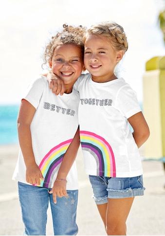 KIDSWORLD Print-Shirt »BETTER TOGETHER«, für Freundinnen kaufen