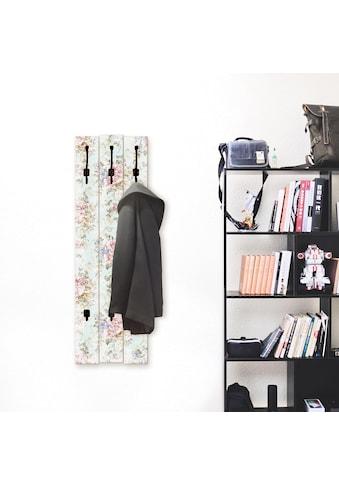 Artland Garderobenpaneel »Blumen mit nahtlosem Muster« kaufen