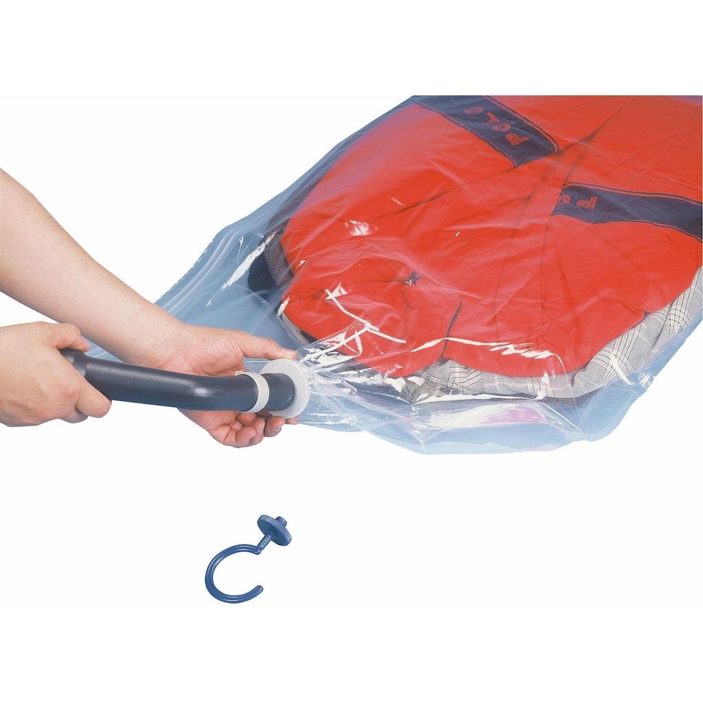 WENKO Kleidersack »Vakuum Größe L«, (Set, 2 St.)