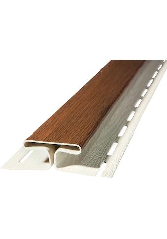 BAUKULIT Set: Verbindungsprofile »SOFFIT Nussbaum«, für Dachüberstand, 2er Set, je 1,525 m kaufen