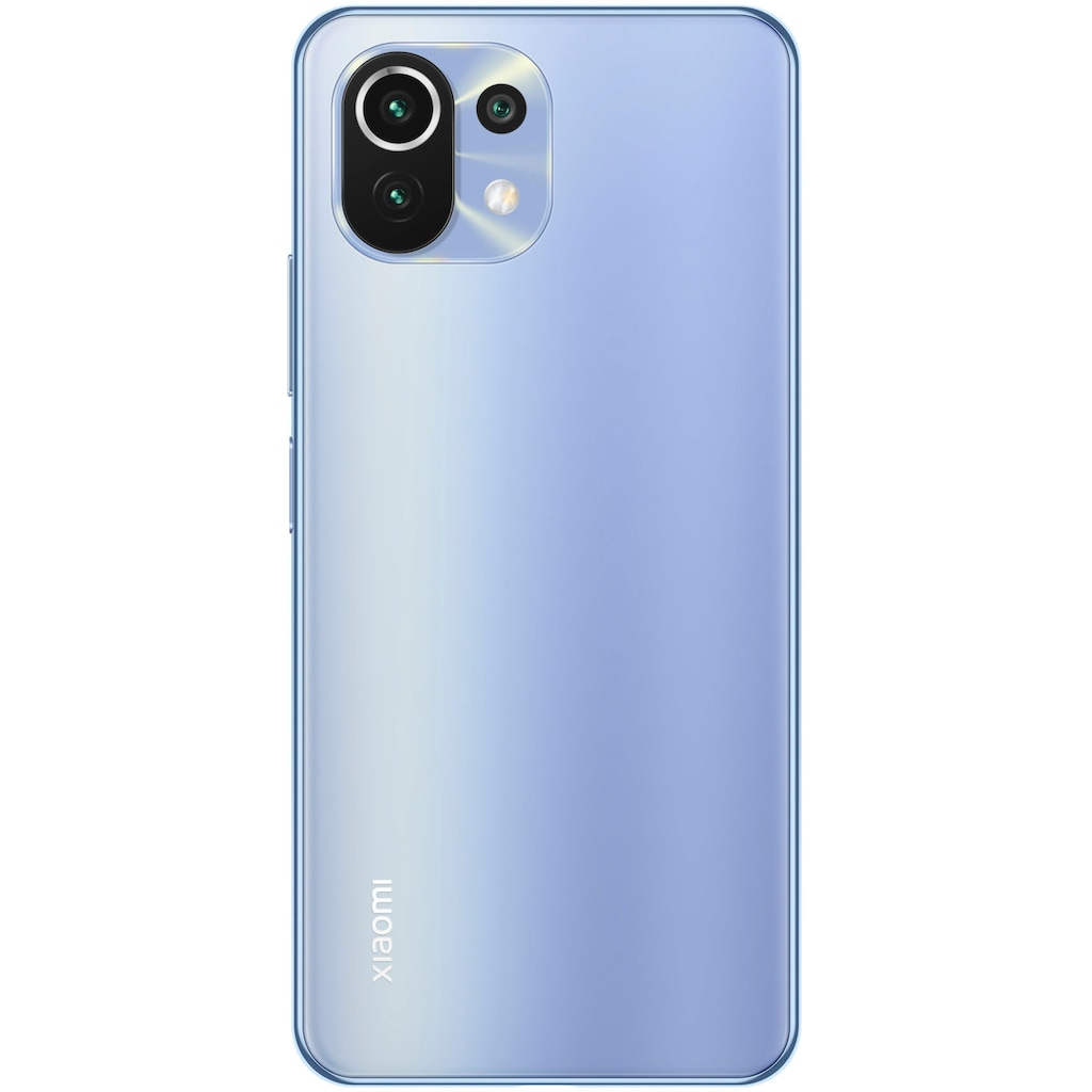 "Xiaomi Smartphone »Mi 11 Lite«, (16,6 cm/6,55 "", 128 GB Speicherplatz, 64 MP Kamera), Intenso Speicherstick 16GB"