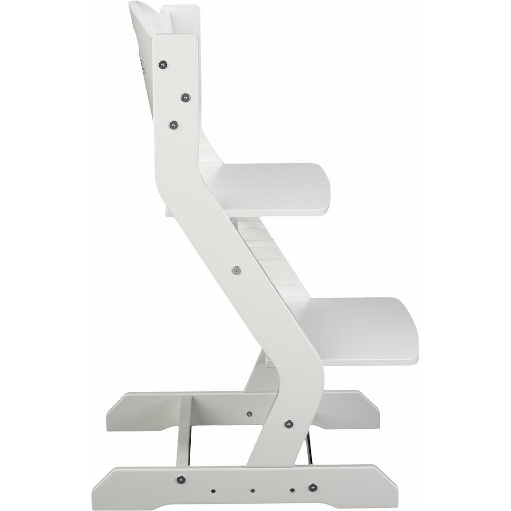 tiSsi® Hochstuhl »Grundgestell Buche Weiß«, aus Holz; Made in Europe