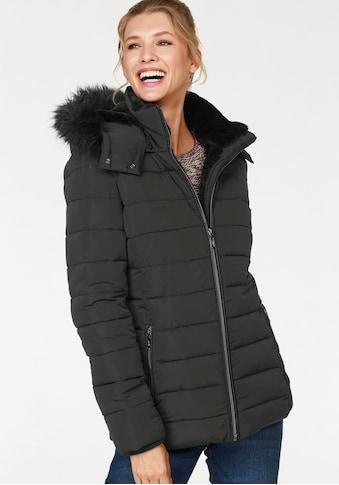 Aniston CASUAL Steppjacke, mit abnehmbarer Kapuze kaufen