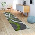 Paco Home Läufer »Diamond 760«, rechteckig, 18 mm Höhe, Teppich-Läufer, Kurzflor, gewebt, 3D-Design, mit Wellen Muster