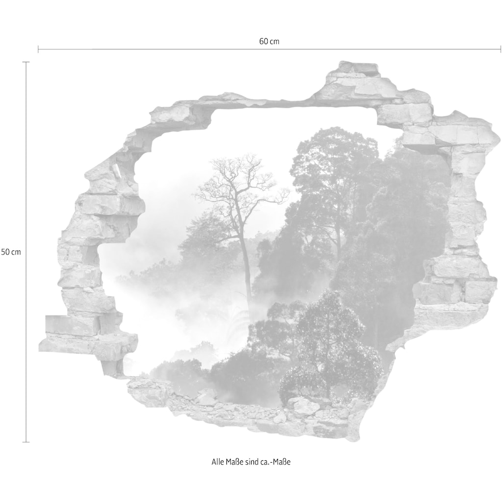 queence Wandtattoo »Regenwald« (1 Stück)