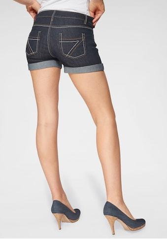 Arizona Jeansshorts »Kontrastnähte« kaufen