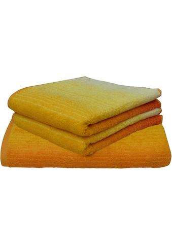 Dyckhoff Handtuch Set »Colori«, mit Farbverlauf kaufen
