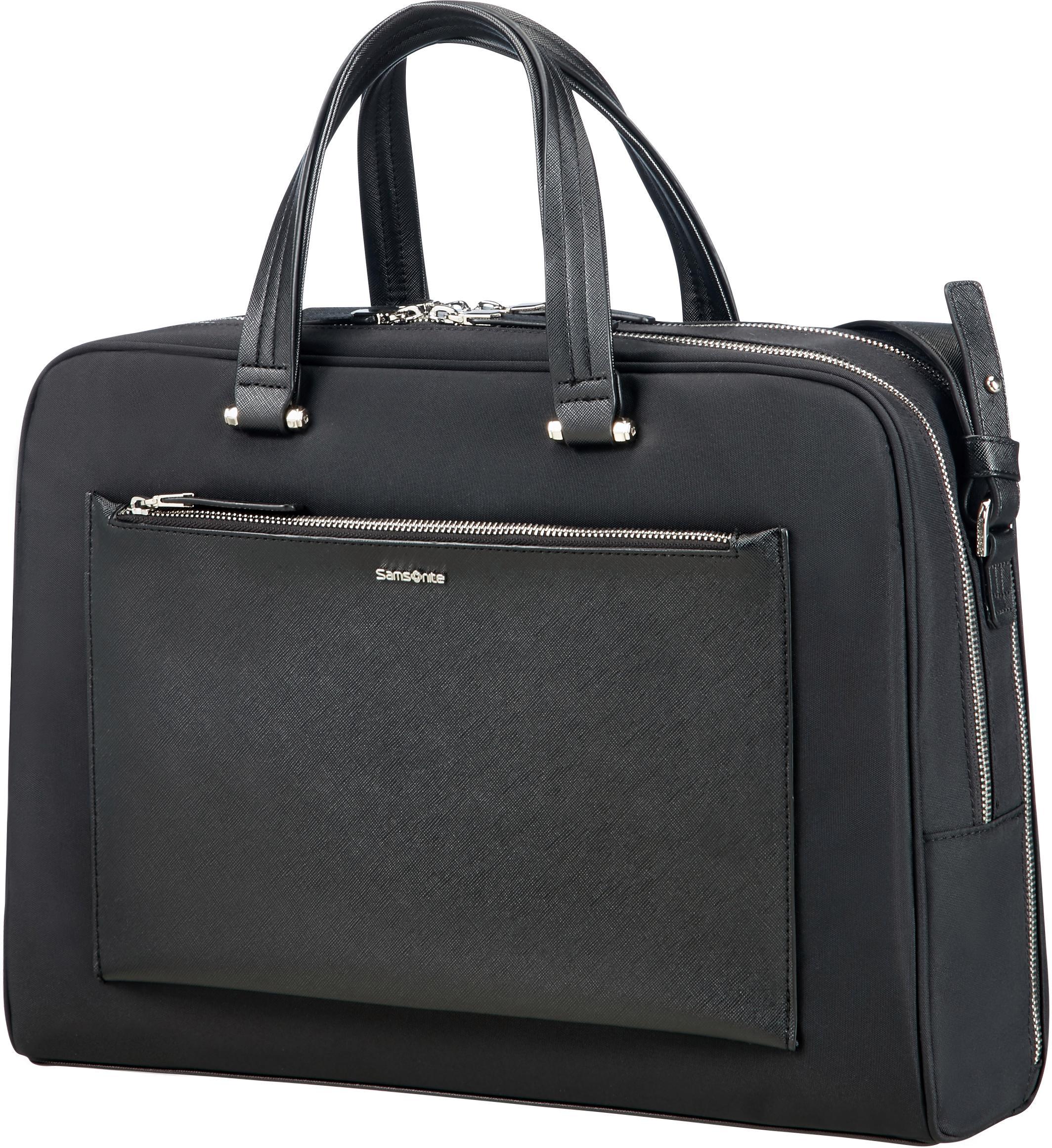 Samsonite Businesstasche »Zalia, 2 Fächer« | Taschen > Business Taschen > Sonstige Businesstaschen | Schwarz | SAMSONITE