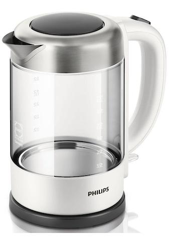 Philips Wasserkocher, Glas HD9340/00, 1,5 Liter, 2200 Watt kaufen
